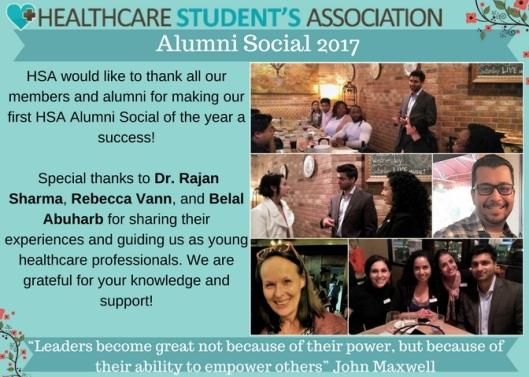 Alumni Social TY